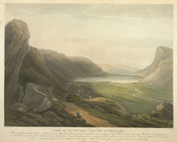 Lake of Luggelaw, County of Wicklow